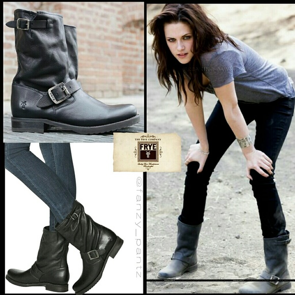 bb252c36b85 Frye Veronica boots black short slouchy 8